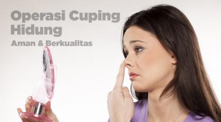 Operasi Cuping Hidung Terbaik, Coba dengan Dokter Spesialis di Klinik Kecantikan Ini!